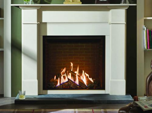 Image showing cover of Fireplace Fires brochure